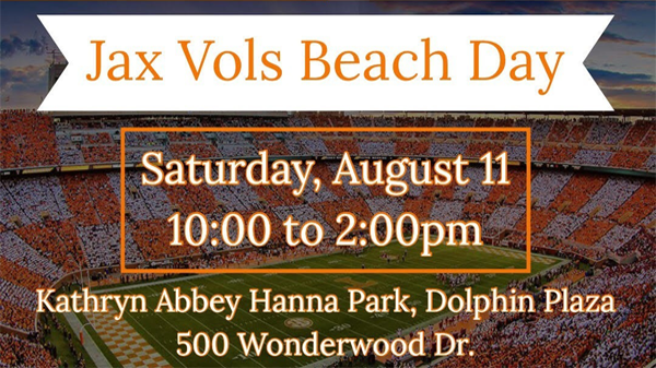 Jax Vols Beach Day